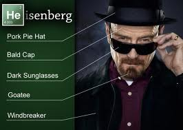 heisenberg costume & Breaking Bad Halloween - Buy Walter White Heisenberg Merchandise Here